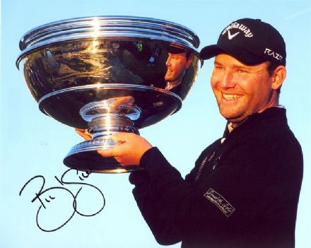 Branden Grace, Alfred Dunhill Links 2012, signed 10x8 inch photo.